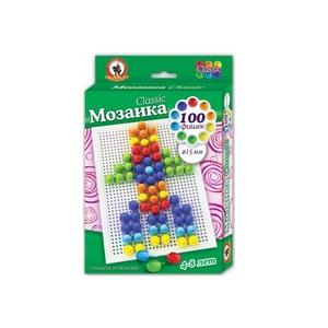 """Мозаика Classic """"Ракета"""" 100 эл, D 15 мм, Малая плата арт. 03973 фото"""