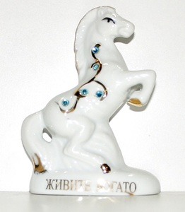 Сувенир Лошадь керамич. арт.F2162С (кор.360) фото