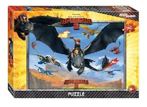 "Мозаика ""puzzle"" 260 ""Драконы"" (DreamWorks), арт.95030 фото"
