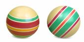 Мяч д. 125мм ЭКО ручное окраш., арт.Р7-125 фото