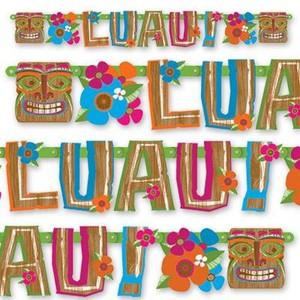 Гирлянда-буквы LUAU! 1,5М арт.1505-0439 фото