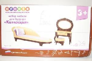 """Набор мебели для будуара """"Коллекция"""" (нов.упак.6 шт), арт. с-1369 фото"""