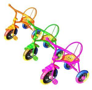 """Велосипед 3-колесный, мет.цветные колеса 10""""/8"""", Светлячок арт.GT9466 фото"""