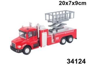 "маш ""LIFT FIRE TRUCK"" пожарная, с подъемником 1:48, арт.34124 фото"