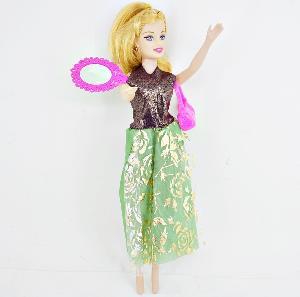 """Кукла 11"""" с асксессуарами в бальном платье  простая в пак., арт.42364 фото"""
