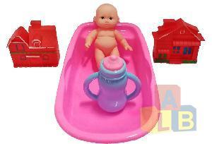 Набор для купания кукол арт.456-3A (кор.192)Ш фото