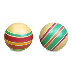 Мяч д.100мм ЭКО ручное окраш. (любой), арт.Р7-100 фото