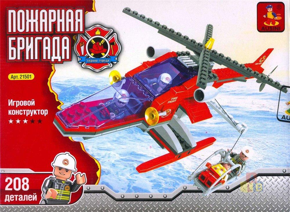"21501 Конструктор ""Пожарная бригада"" (кор.48) фото"