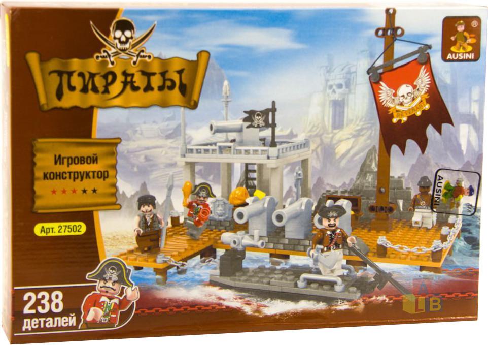 """27502 Конструктор """"Пираты"""" 238 дет  (кор.36) фото"""