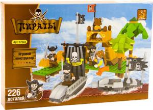 """27503 Конструктор """"Пираты"""" 226дет. (кор.36) фото"""