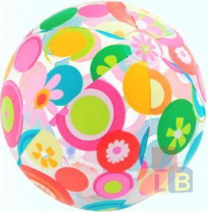 Мяч Узоры Ливели 51см от 3лет (кор.36шт) арт.59040NP фото