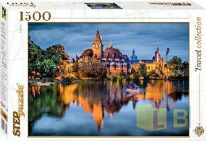 """Пазл 1500 """"Замок у Озера"""" арт.83050 фото"""