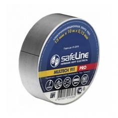 Изолента Safeline 19/20 серо-стальной, арт.12124 фото