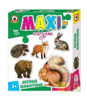 "Макси пазлы. ""Лесные животные"" арт.03524 фото"