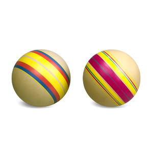 Мяч д. 200мм ЭКО ручное окраш., арт.Р7-200 фото