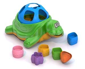 """Дидактическая игрушка """"Черепаха""""  арт.793 (кор.24) фото"""