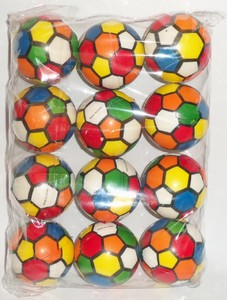 Мяч детский формовый (1/12 цена за штуку) арт.2517-13 (кор/720) фото