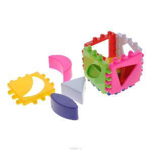 Логический кубик малый арт.01314 фото
