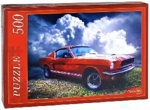 Пазл 500 эл. Красное авто и облака арт. АЛ500-7006 фото