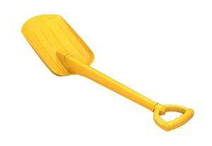 Лопата 70 см желтая, арт.130/3 фото