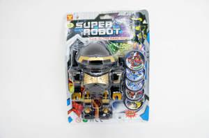 Робот-дископлюй мини  SuperRobot на карт., арт.38710 фото