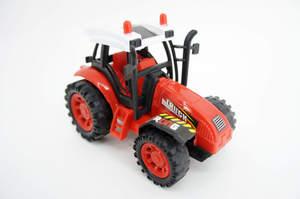 Машина инерционная - Трактор фермерский средний в пак, арт.46710 фото