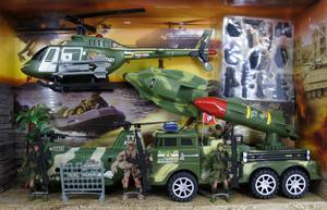 Набор военного (в кор.12), арт.HW-3A4 фото