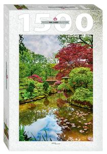 "Мозаика ""puzzle"" 1500 ""Нидерланды. Гаага. Японский сад"", арт.83064 фото"