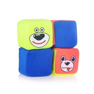 """Игрушка мягконабивная набор кубиков """"Друзья"""", арт.11182 фото"""