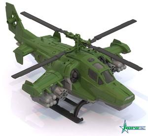 """Вертолет """"Военный"""" арт.247 фото"""