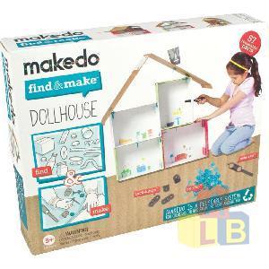 Конструктор MAKEDO FM01-003 Подумай и сделай Домик, 57 дет. фото
