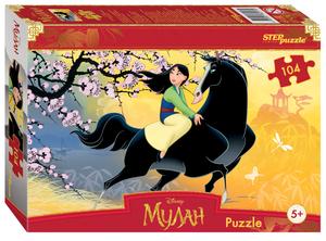 """Мозаика """"puzzle"""" 104 """"Мулан"""", арт.82213 фото"""