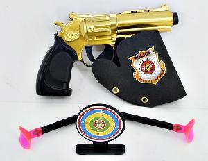 Пистолет с присосками (в кор.1200), арт.8301-61 фото