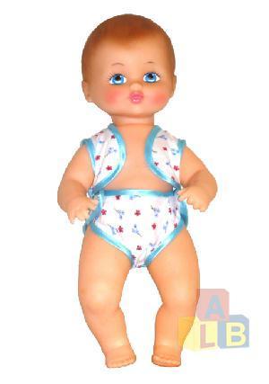 Кукла Кира полз 40 см арт.ПЛЗ40-7 фото
