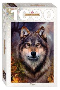 "Пазл 1000 ""Бенте Шлик. Волк"" арт.79109 фото"