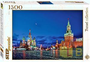 Пазл 1500 Москва  Красная площадь арт.83051 фото