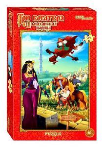 """Пазл 560 DISNEY """"Три богатыря.Шамаханская царица"""" арт.97035 фото"""