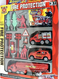 Набор пожарного, арт.0028-D11 фото