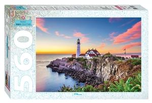 "Мозаика ""puzzle"" 560 ""США. Маяк в Портленде"", арт.78104 фото"