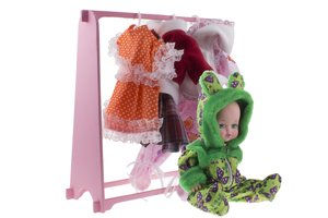 Гардероб 4 сезона для девочки + кукла (пакет ), арт.ПЛМ-4 фото