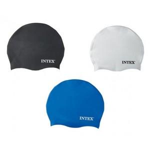 Силиконовая шапочка для плавания, от 8лет (кор.24шт)арт.55991 фото