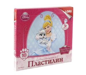 """Плд-014 Пластилин Disney """"Королевские питомцы"""" фото"""