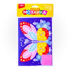 "Мягкая мозаика. Малый набор ""Яркая бабочка"", арт.Кэ-008 фото"
