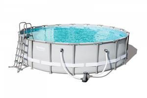Каркасный бассейн 549х132 см, 26000 л, фильтр-насос,арт.56232 фото