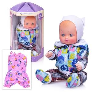 Кукла Кирилл с доп.одеждой 40см (пакет), арт.МАЛ40-4 фото