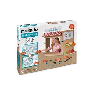 Конструктор MAKEDO FM08-001 Подумай и сделай Магазин, 57 дет. фото