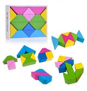 Треугольники Цветные, арт.6677 фото