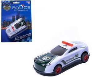 Машина инерционная - полицейская Кортеж сопровождения металл в ассорт. на карт., арт.46674 фото