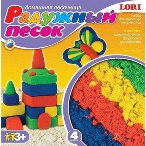 Радужный песок, набор из 4 цветов арт.Пт-004 фото