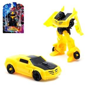 """Робот-трансформер """"Автобот"""" цвета МИКС арт.12263 (1741371) фото"""